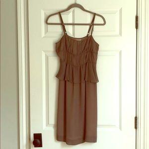 Moulinette Soeurs sz 0 slip dress w peplum detail